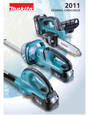 Makita General Catalog 2011